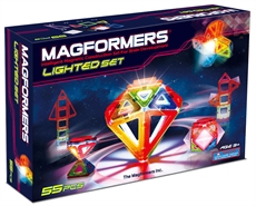 Magformers med LED-lys