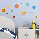 Wallsticker Solsystemet thumbnail