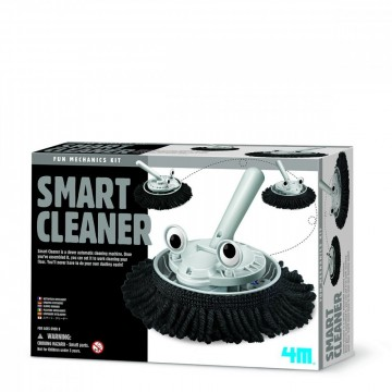 4M Byggesett Rengjøringsroboten Smart Cleaner