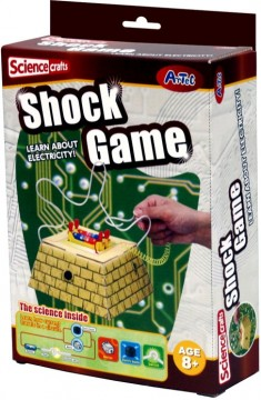 Science Crafts Shock Game byggesett