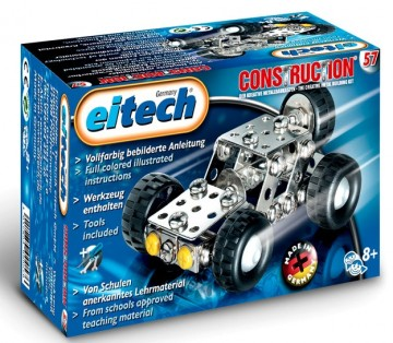 Eitech metallbyggesett Mini-Jeep C57