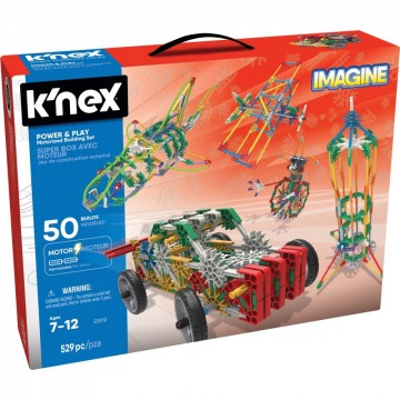 Knex Power & Play motorisert byggesett