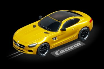 Carrera Mercedes AMG Coupe solarbeam modellbil