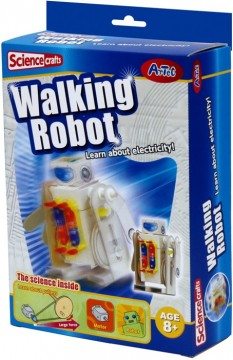 Science Crafts Walking Robot byggesett