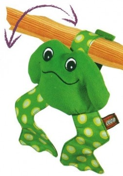 Lego myk froskerangle 3 stk.