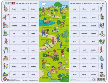 Puslespill Learning English puzzle 12