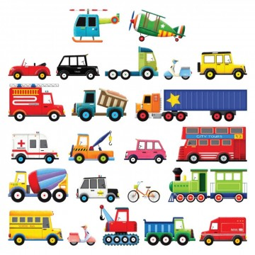 Wallsticker Transport