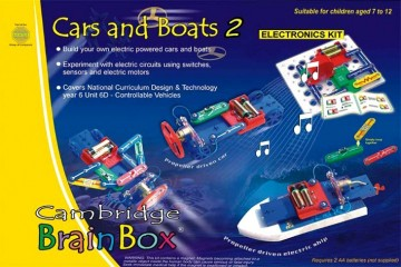 BrainBox Cars & Boats elektronikksett