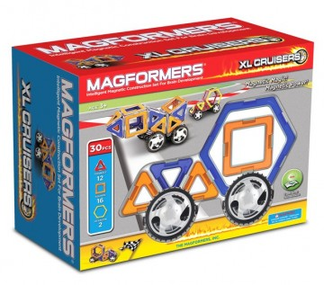 Magformers XL Cruisers Car Set