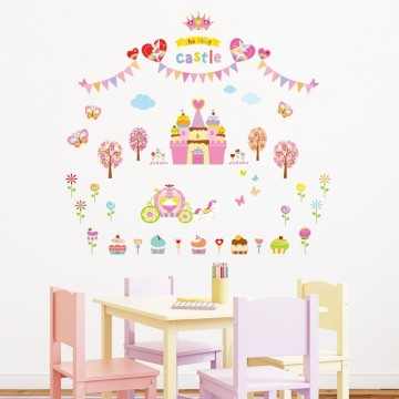Wallsticker Prinsesseslott
